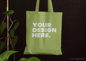 Einkaufstasche lässt Modellentwurf