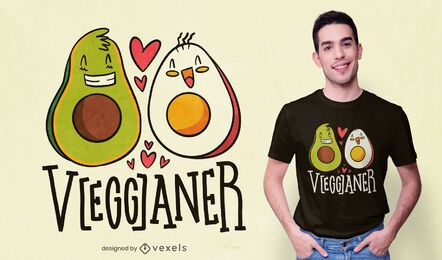Vegganer t-shirt design
