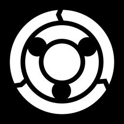Resumen de logotipo de círculo abstracto