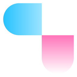 Abstract gradient logo