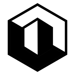 Logotipo abstracto del hexágono
