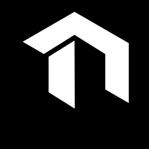 Logotipo abstracto del hexágono Transparent PNG