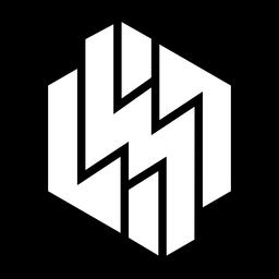 Logotipo abstrato relâmpago