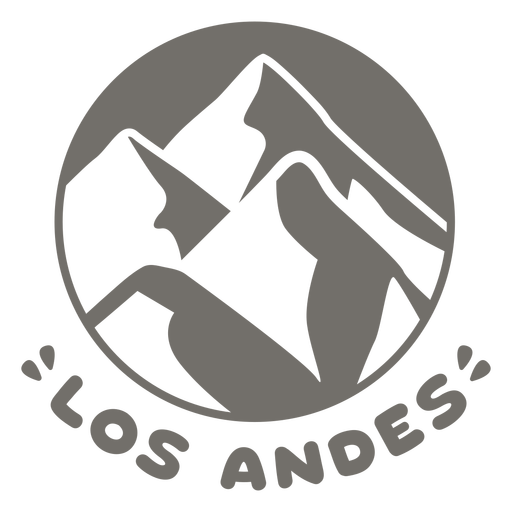 Andes chile monocromo