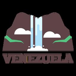 Angel falls venezuela flat
