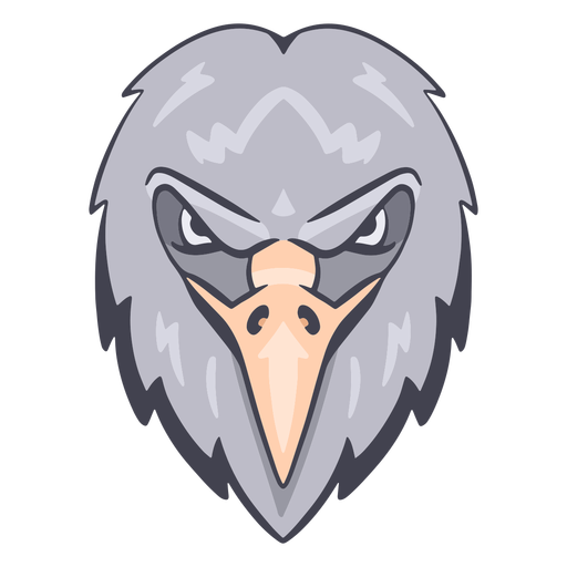 Angry eagle logo Transparent PNG