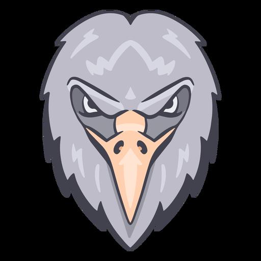 Logotipo del águila enojada