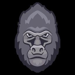 Wütendes Gorilla-Logo
