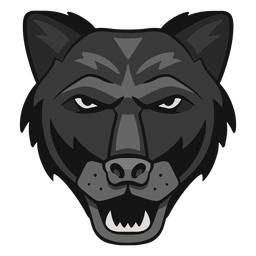 Angry panther logo