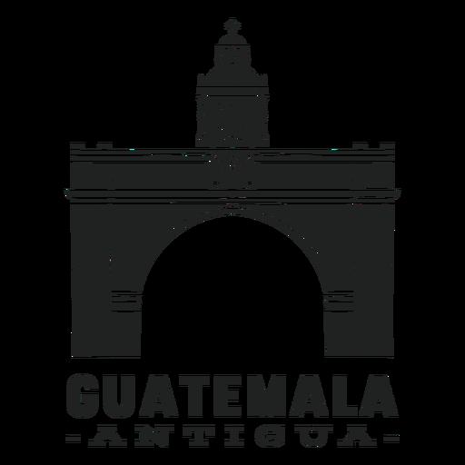 Antigua guatemala cut out
