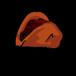 Ilustración de baleada honduras