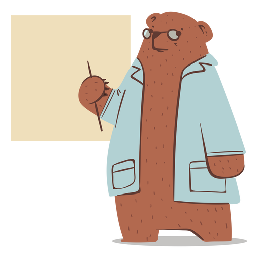 Bear doctor character
