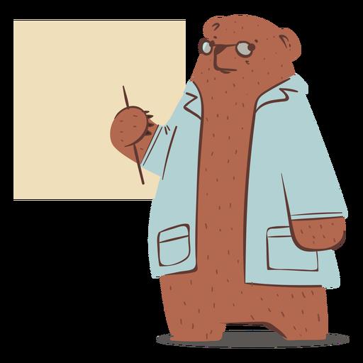 Car?cter de doctor oso