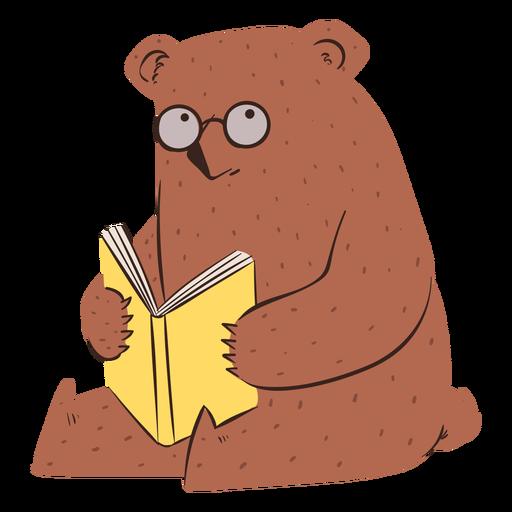 Carácter de la escuela del oso Transparent PNG