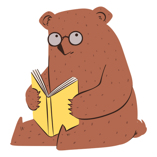 Carácter de la escuela del oso