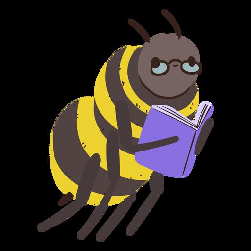Bee studying character