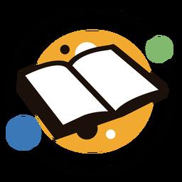 Logotipo dos círculos do livro