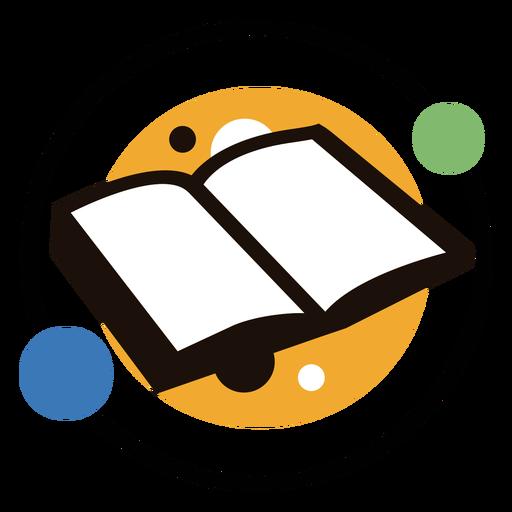 Logotipo de c?rculos de libro
