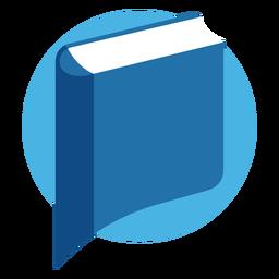 Book speech bubble logo