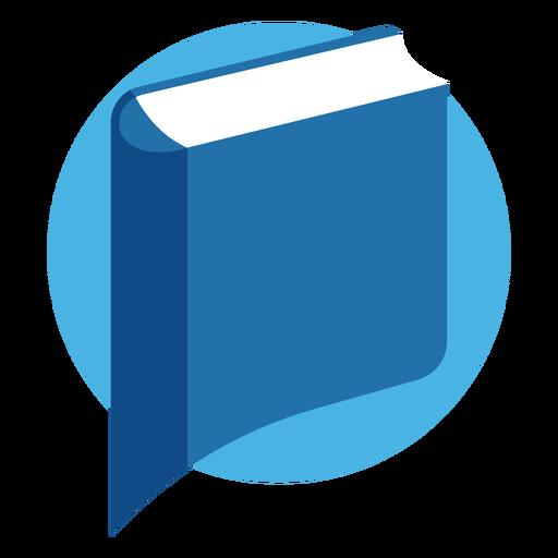 Libro logo de burbujas de discurso