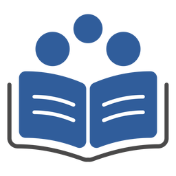 Buch drei Kreise Logo