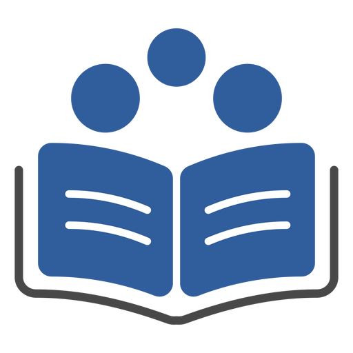 Libro tres círculos logo Transparent PNG