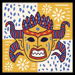 Carnival dominican republic doodle