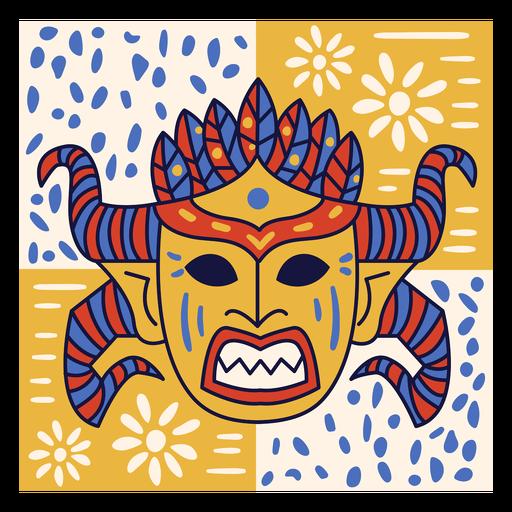 Doodle de carnaval de república dominicana