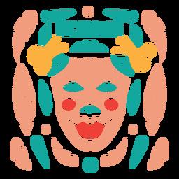 Máscara de carnaval nicaragua