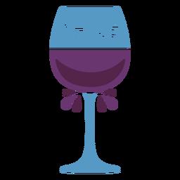 Chile wine glass flat