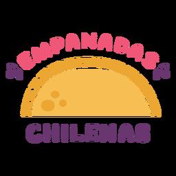 Chilean emapanadas flat
