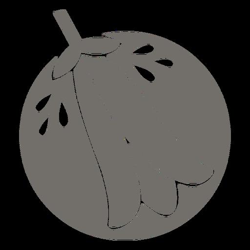 Monocromo de campanilla chilena
