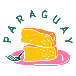Chipa guazu paraguay cut out
