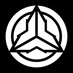 Logotipo abstracto del círculo