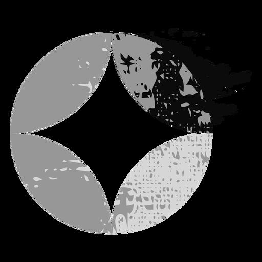 Circle shape sparkle logo Transparent PNG