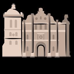 Ilustración de la catedral de Comayagua