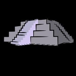 Copan ruins honduras illustration