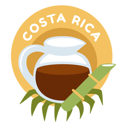 Costa rica coffee flat