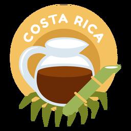 Piso de café de costa rica