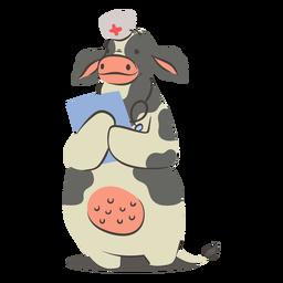 Cow nurse character
