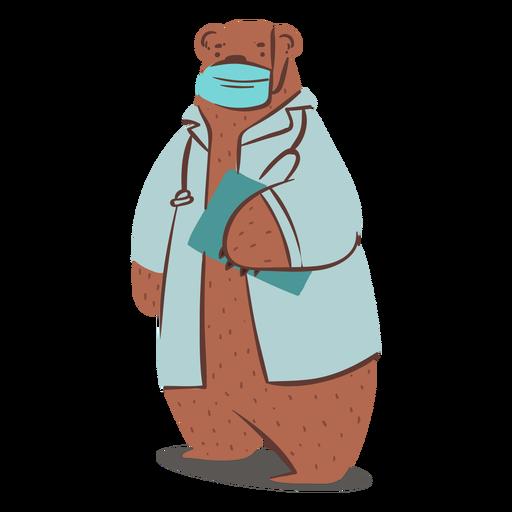 Dr bear character
