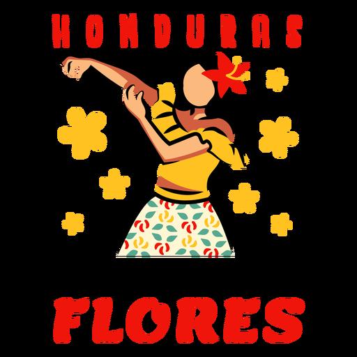 Festival flores honduras illustration