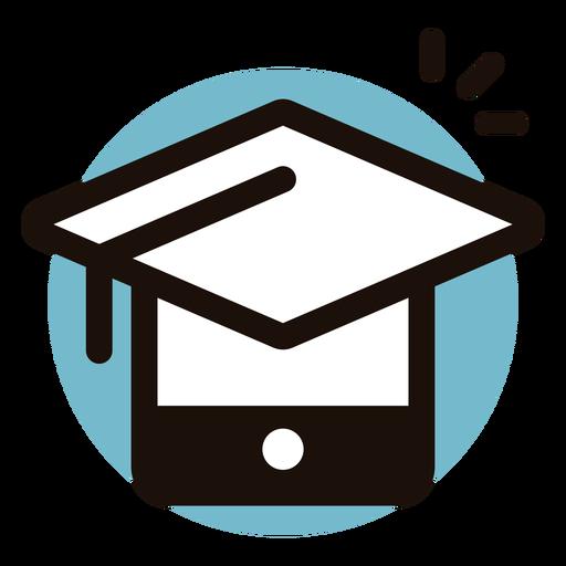 Graduation Cap Telefon Logo