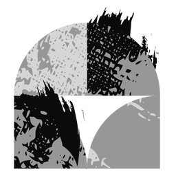Grunge formt Logo