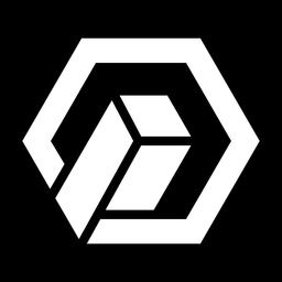 Logotipo abstracto hexagonal