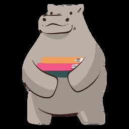 Hippo books study character