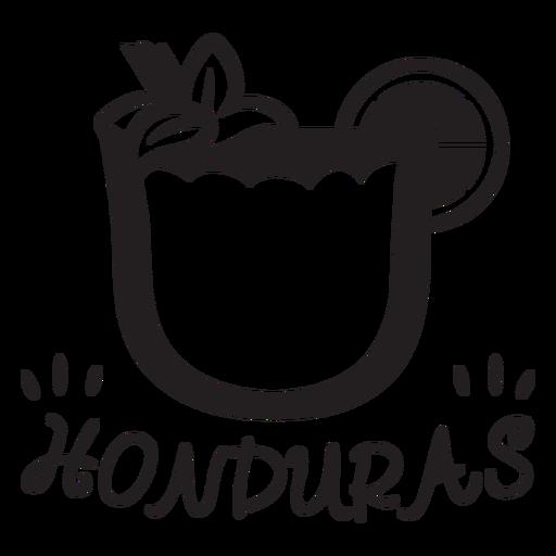 Honduras horchata stroke