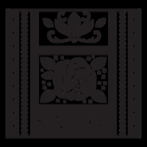 Honduras rose textile