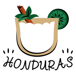 Horchata honduras illustration