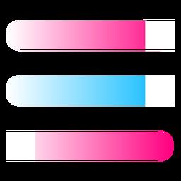 Registro de gradiente abstracto de líneas